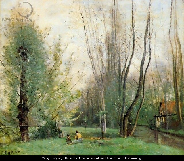 Morning at Beauvais - Jean-Baptiste-Camille Corot