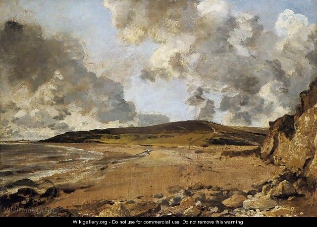 Weymouth Bay, with Jordan Hill - John Constable