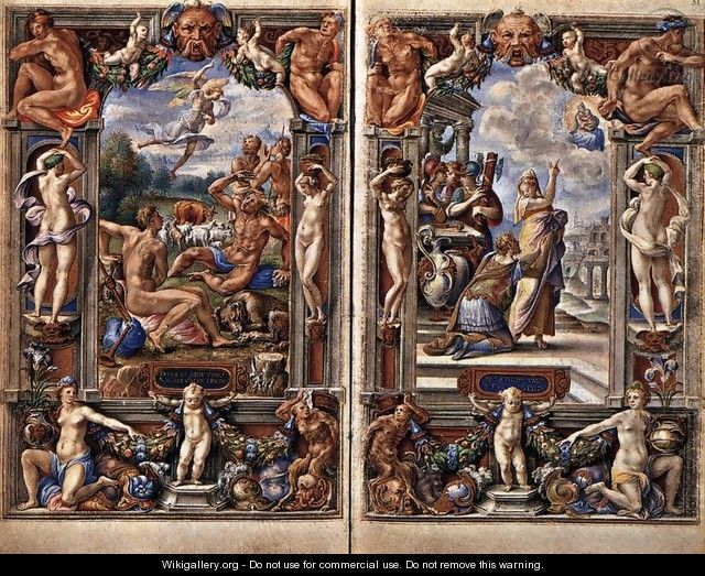 Pages from the Farnese Hours - Giorgio-Giulio Clovio