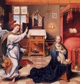 The Annunciation - Joos Van Cleve (Beke)