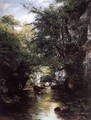 The Stream at Breme - Gustave Courbet