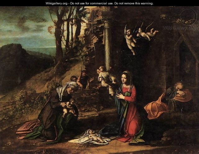 Nativity - Correggio (Antonio Allegri)