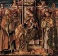 Virgin and Child Enthroned with Saints - Carlo Crivelli