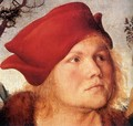 Portrait of Dr. Johannes Cuspinian (detail) - Lucas The Elder Cranach