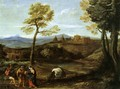 Landscape with the Flight into Egypt - Domenichino (Domenico Zampieri)