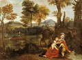 The Rest on the Flight into Egypt - Domenichino (Domenico Zampieri)