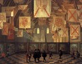 The Great Hall of the Binnenhof in The Hague - Dirck Van Delen
