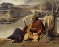 Resting on the Banks of the Tiber - Paul Delaroche