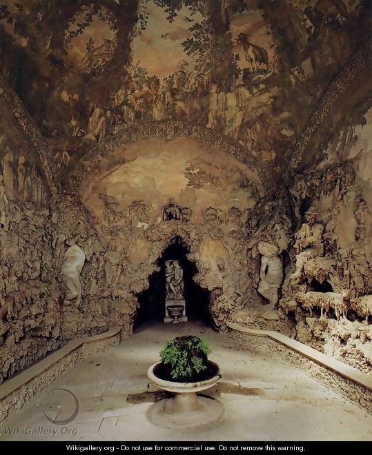 The Grotto Grande - Bernardo Buontalenti