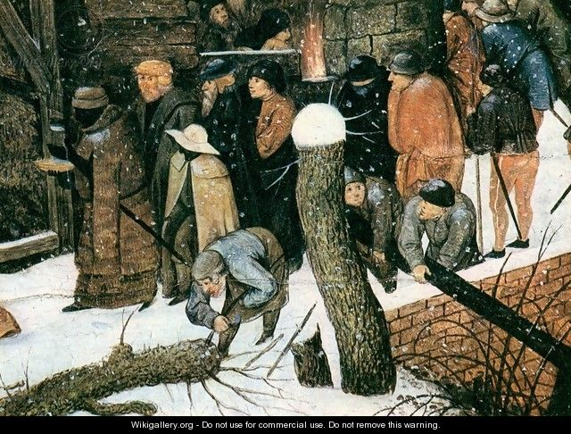 Adoration of the Magi (detail) 2 - Pieter The Younger Brueghel