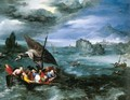 Christ in the Storm on the Sea of Galilee - Jan The Elder Brueghel