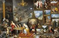 Allegory of Sight and Smell - Jan The Elder Brueghel