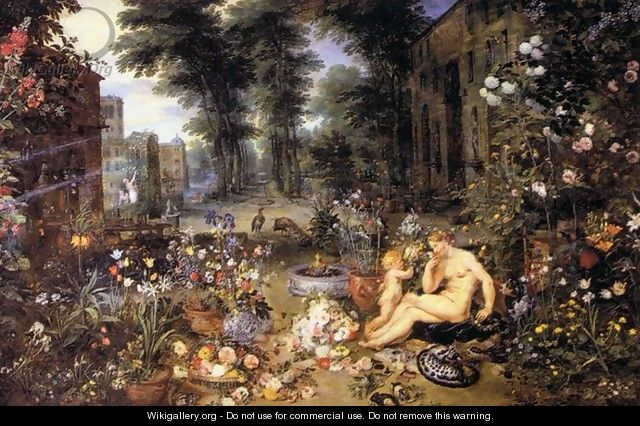 The Sense of Smell - Jan The Elder Brueghel
