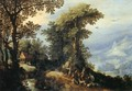 Landscape with Hunters - Jan The Elder Brueghel