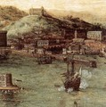 Naval Battle in the Gulf of Naples (detail) - Pieter the Elder Bruegel