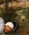 The Parable of the Blind Leading the Blind (detail) 4 - Pieter the Elder Bruegel