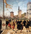 The Ambassadors Return to the English Court (detail) - Vittore Carpaccio
