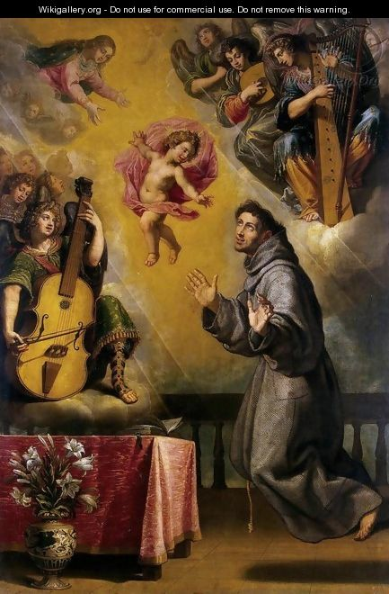 The Vision of St Anthony of Padua - Vicente Carducho