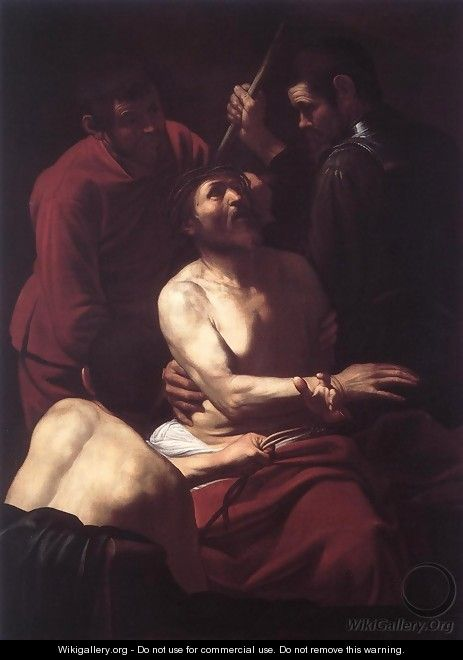 The Crowning with Thorns 2 - Caravaggio