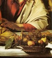 Supper at Emmaus (detail) - Caravaggio