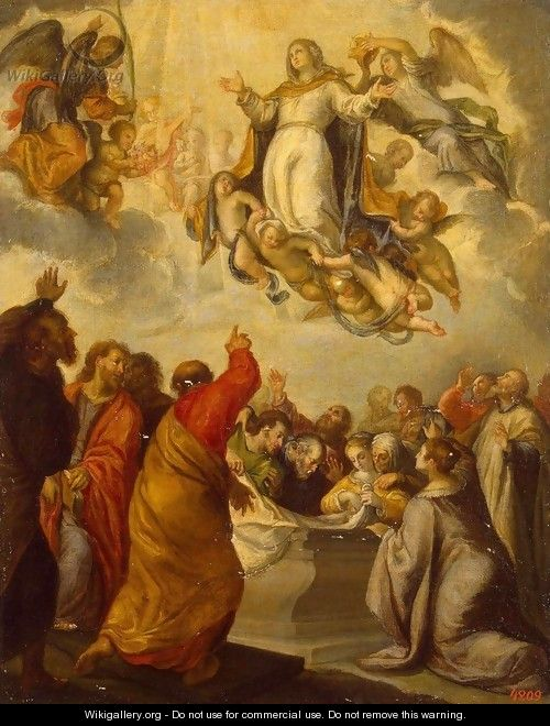 Assumption of the Virgin - Francisco Camilo