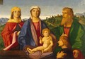 Madonna and Child with Saints and the Donor - Vincenzo di Biagio Catena