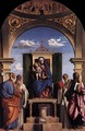 Madonna and Child Enthroned with Saints - Giovanni Battista Cima da Conegliano