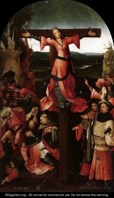 Triptych of the Martyrdom of St Liberata (central panel) 2 - Hieronymous Bosch