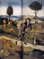 Triptych of Haywain (outer wings) - Hieronymous Bosch