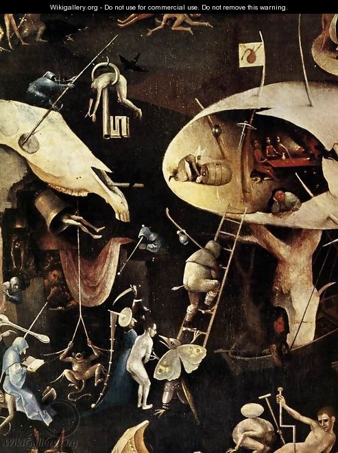Triptych Of Garden Of Earthly Delights Detail 6 Hieronymous Bosch The