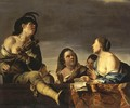 Merry Company with a Violinist - Jan Gerritsz van Bronchorst