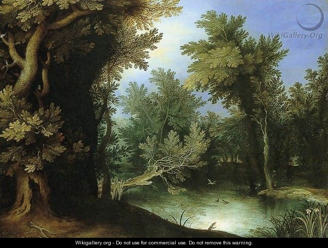 Landscape with a Marsh - Paul Bril