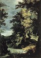 Landscape with a Mythological Scene - Paul Bril