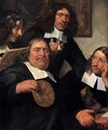 The Governors of the Guild of St Luke, Haarlem (detail) - Jan De Bray
