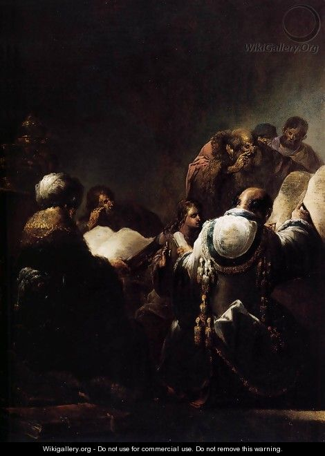 Christ among the Doctors 2 - Leonaert Bramer