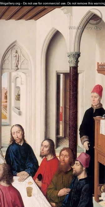 The Last Supper (detail) 2 - Dieric the Elder Bouts