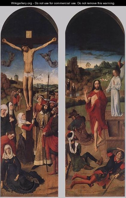 Passion Altarpiece (side wings) 2 - Dieric the Elder Bouts