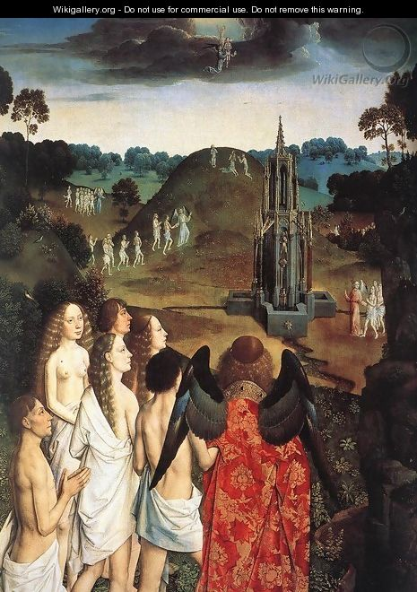 The Way to Paradise (detail) - Dieric the Elder Bouts
