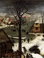 The Census at Bethlehem (detail) 8 - Pieter the Elder Bruegel