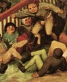 Children's Games (detail) 5 - Pieter the Elder Bruegel