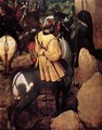 The Conversion of Saul (detail) - Pieter the Elder Bruegel