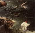 Landscape with the Fall of Icarus (detail) 2 - Pieter the Elder Bruegel