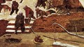 Adoration of the Kings in the Snow (detail) - Pieter the Elder Bruegel