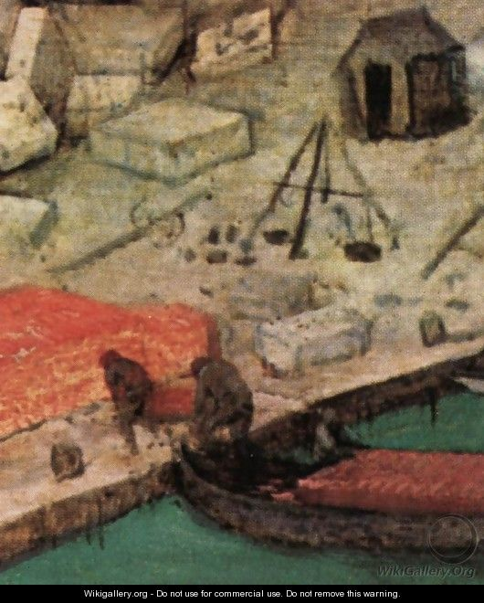 The Tower of Babel (detail) 19 - Pieter the Elder Bruegel