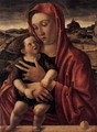 Madonna, with Child Standing on a Parapet - Giovanni Bellini