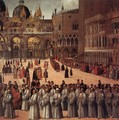 Procession in Piazza San Marco (detail) - Gentile Bellini