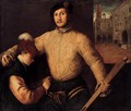 A Ballplayer and His Page - Francesco Beccaruzzi