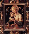 Madonna and Child in Painted Frame - Lazzaro Bastiani