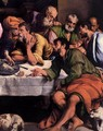 The Last Supper (detail) 2 - Jacopo Bassano (Jacopo da Ponte)