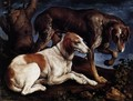 Two Hounds - Jacopo Bassano (Jacopo da Ponte)